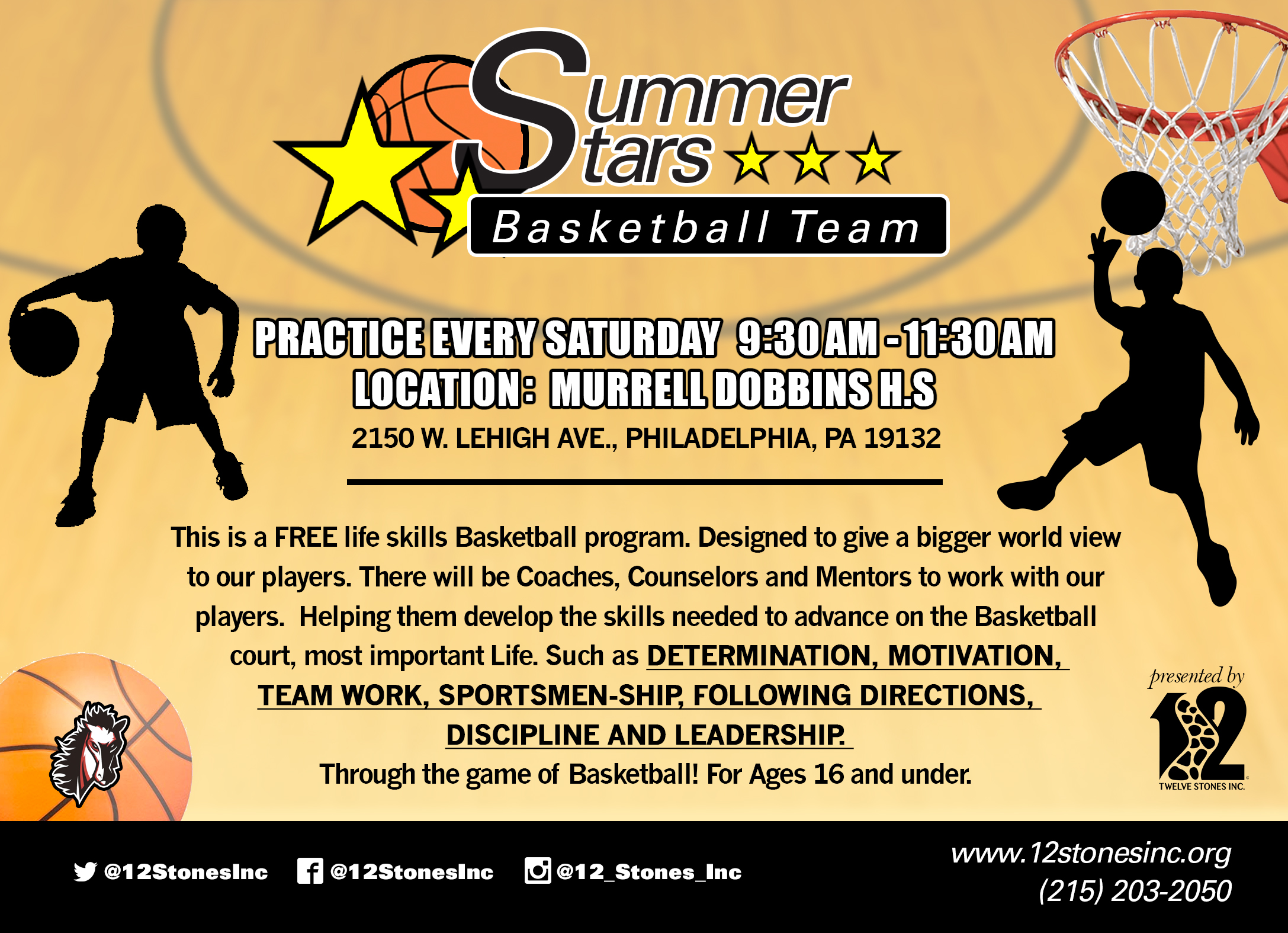 SummerStarsBBall_Flyer5x7